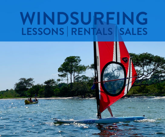 Windsurfing Lessons, Rentals and Sales