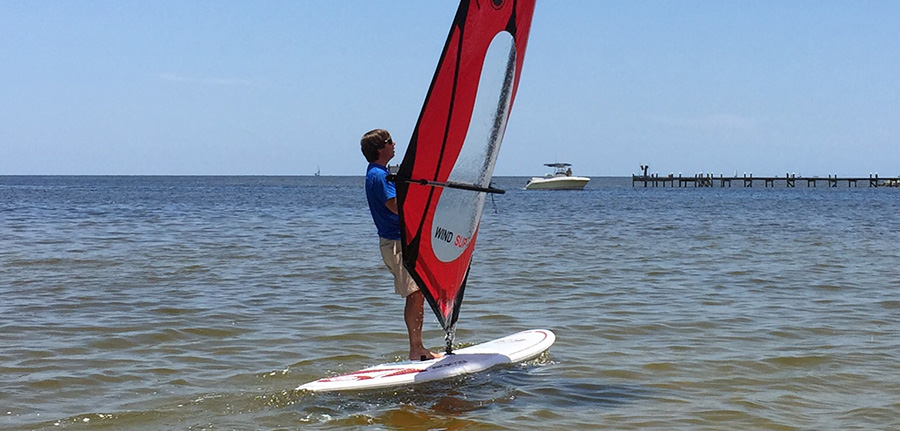 Windsurfing in Pensacola